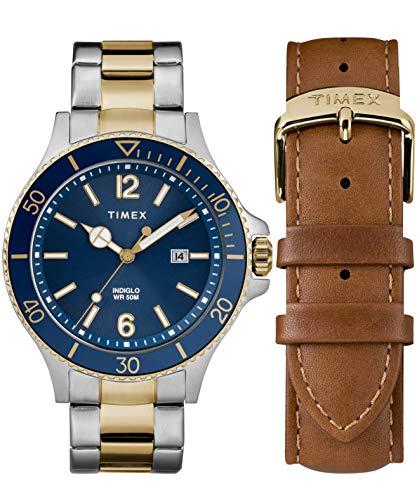 Timex Orologio Analogico Quarzo Uomo con Cinturino in Acciaio Inox TWG019600