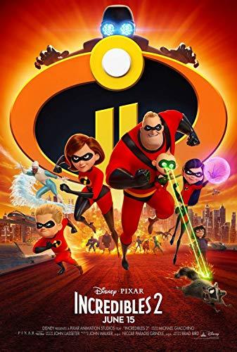 Incredibles 2'Final Poster 27x40 Original D/S Movie Poster