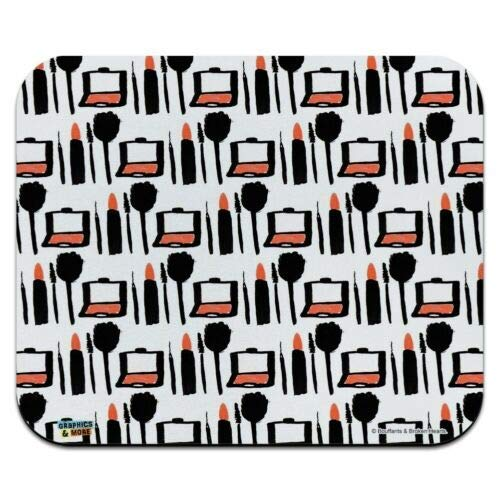 Mausmatte, Make-up Lippenstift Kompakter Lidschatten Low Profile Dünnes Mauspad Mousepad, Gaming...