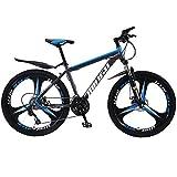 24 Zoll Mountainbike, Country Mountain Bike, 21 Gang Bike Erwachsene MTB, Hardtail-Fahrrad mit...