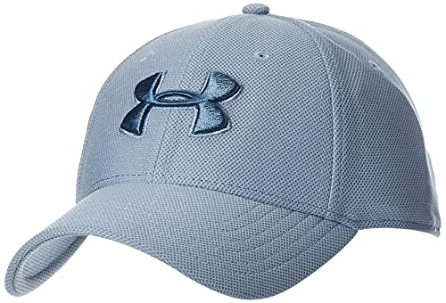 Under Armour Heathered Blitzing 3.0 Cap Medium/Large Washed Blue (420)/Mineral Blue