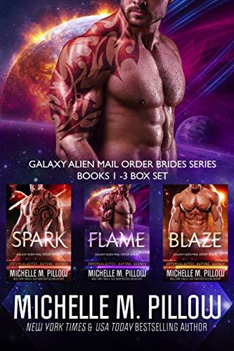 Galaxy Alien Mail Order Brides Series (Books 1-3 Box Set): Qurilixen World Novellas: Intergalactic Dating Agency