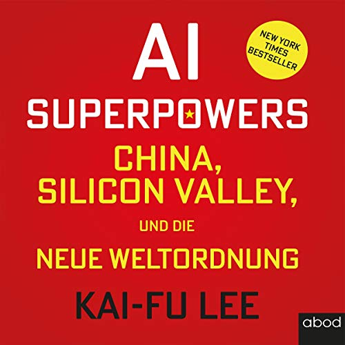 AI-Superpowers (German edition) audiobook cover art