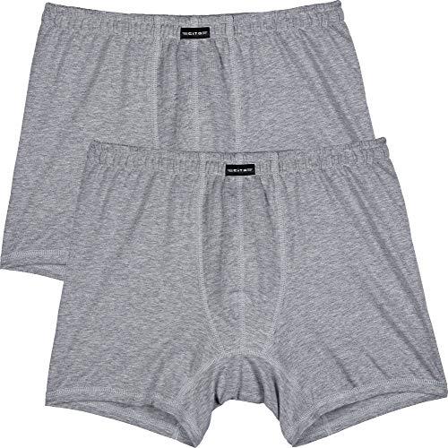 CiTO Herren-Pants 2er-Pack Silber Größe 7