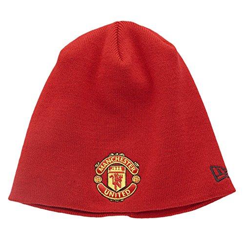 New Era Niños Manchester United Gorro De Punto Beanie Rojo Para niños