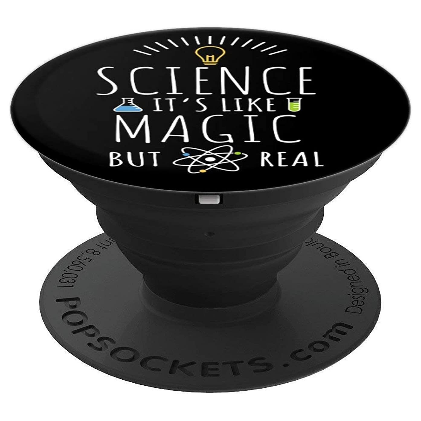 Science It's Like Magic But Real - PopSockets Grip and Stand for Phones and Tablets
