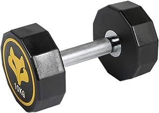 Dumbbells 2.5Kg-10Kg for Men Women Dumbbell Hand Weight Barbell Anti-Slip Dumbells Home Exercise Strength Training (Color : Yellow, Size : 2.5kg)