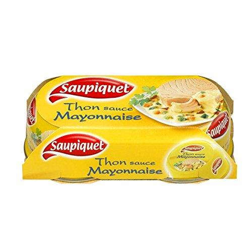 Saupiquet Thon sauce mayonnaise - Les 2 boîtes de 135g, soit 270g