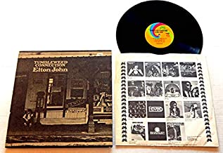 Elton John TUMBLEWEED CONNECTION - Uni Records 1970 - USED Vinyl LP Record - 1971 Reissue 93096/73096 - W/ 12 Page BOOKLET - Burn Down The Mission - Where To Now St. Peter? - Love Song - Amoreena