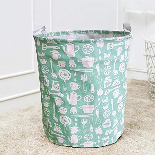LIMMC Vuil wasmand Waterdichte Canvas Vellen Waskleding Wasserij Mand Opslag Mand Vouwkleding opbergdoos DEC15