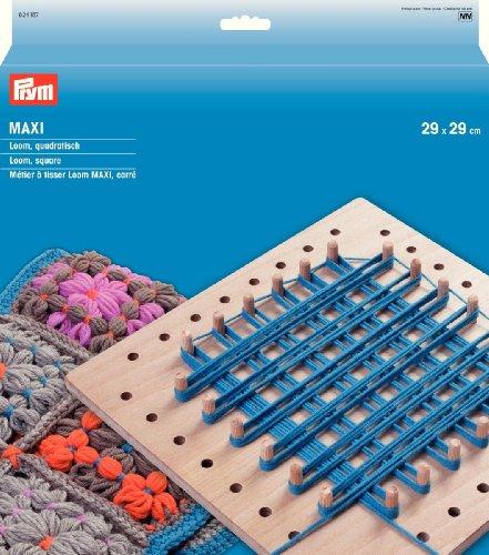 Prym - Telaio Quadrato Maxi Loom Square, 14 x 14 cm