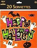 Scream Machine Feliz Halloween Espeluznante Servilletas/Servilletas Paquete de 20