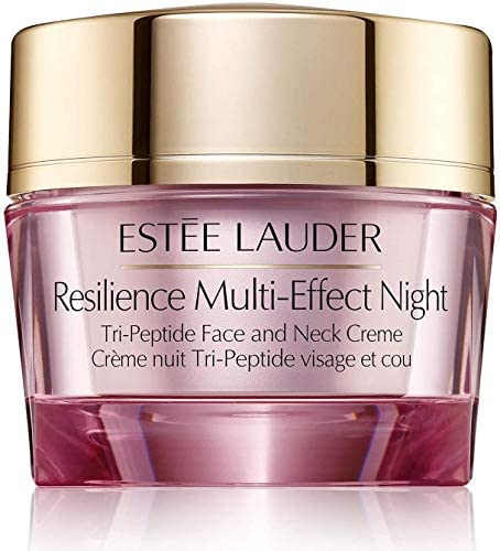 Estee Lauder Resilience Multi Effect Night Tri Peptide Face and Neck Creme 1 oz 30 ml Full Size product image