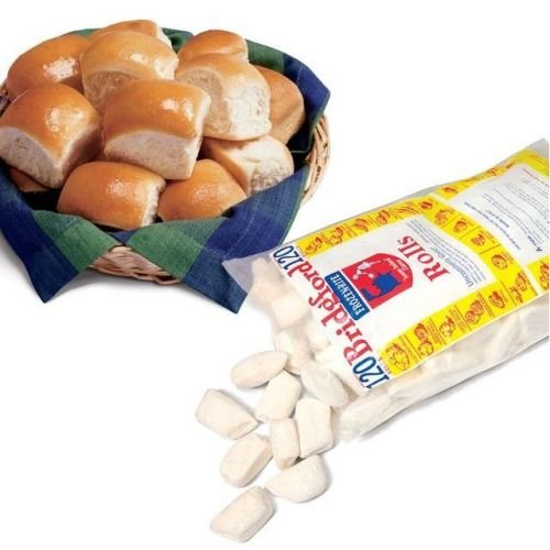 Bridgford Foods Parker House White Yeast Roll Dough, 1 Ounce -- 240 per case.
