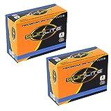 2 Pack - Bike Tube, Presta Valve 700c x 28-35, (27x1-1/8 to 1-1/4), 32mm Presta Valve, Bicycle Inner Tube, Sunlite