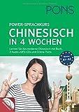 PONS Power-Sprachkurs Chinesisch in 4 Wochen: Lernen Sie Chinesisch mit Buch, 2 Audio+MP3-CDs und Online-Tests - Jie Tan Spada