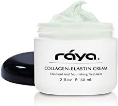 RAYA Collagen-Elastin Cream (401) | Nourishing and Moisturizing Facial Treatment for Dry Skin | Helps Reduce Fine Lines and Wrinkles | Calms, Tones, Refines, and Firms
