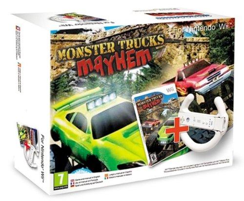 Monster Trucks Mayhem con Steering Wheel