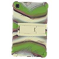 Yudesunydsスタンドシリコンソフトスキン耐衝撃性軽量保護カバーケース for Samsung Galaxy Tab A7 Lite T220 T225 8.4インチタブレット用