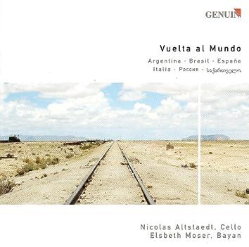 Cello and Bayan Arrangements - Piazzolla, A. / Villa-Lobos, H. / Falla, M. / Stravinsky, I. / Tsintsadze, S.