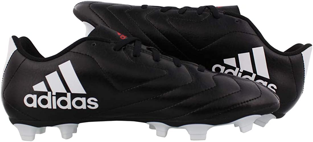   adidas Men's Goletto VII FG Sneaker, Core Black, 8 M US   Soccer