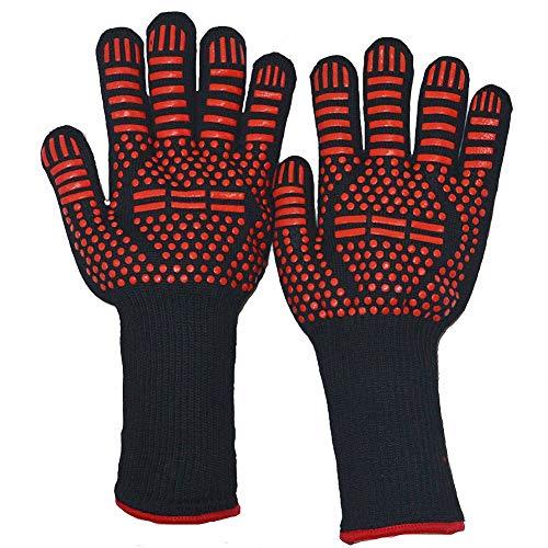 Tobe-U BBQ Grill Handschoen Extreme 932°F Hittebestendige Oven Mitt Handschoenen voor Koken Grillen Bakken