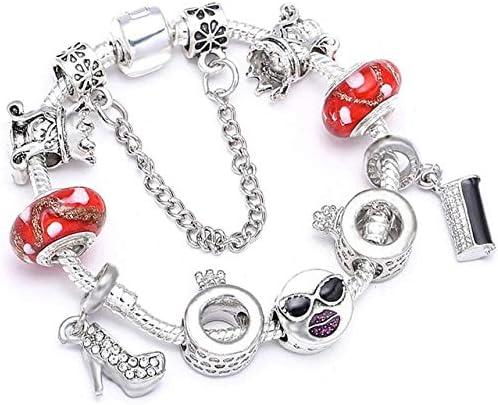 wholesale Heart Charm Bracelets for Women Original Streamer Men Crystal Max 52% OFF Be