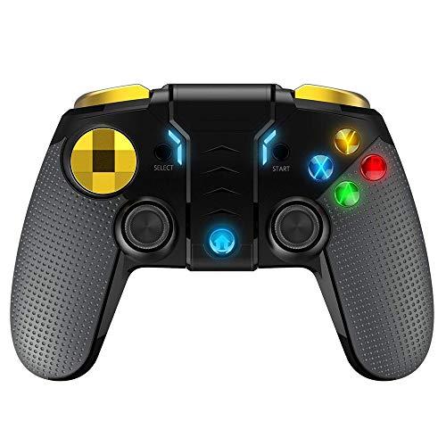 QCHEA Controlador de Juegos Bluetooth Gamepad Controlador de Juegos for teléfono Smart TV Box Win