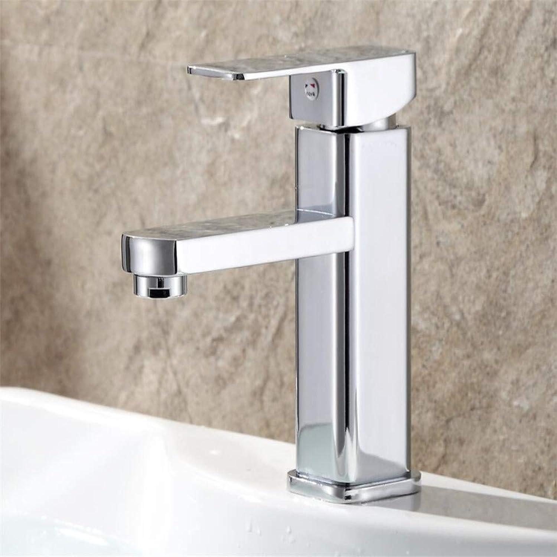 Basin Mixer Tap Basin Mixing Valve Faucet Single Hole Hot and Cold greenical Washbasin