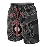 Youth Boys' Swim Trunk Dead-Pool Surf Beach Shorts Quick Dry Board Shorts Casual Pants