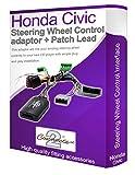 Adaptador de cable estéreo para coche Civic, conecta los controles de tallo del volante