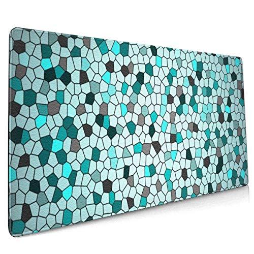 Ocean Textures Achtergronden Tegels Muis Pad Niet Slip Rubber Grote Gaming Toetsenbord Mat 15.8x35.5 In