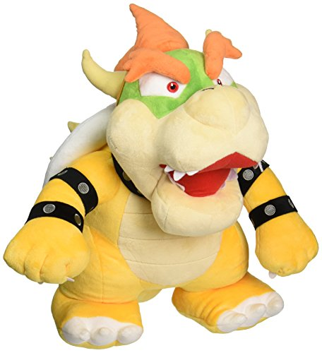 Nintendo Official Super Mario - 1244 - Bowser 15' Large Plush