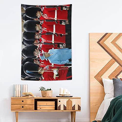SDFGE Tapiz de guardias irlandeses – Pop Art – Tapiz de poliéster – Decoración del hogar – 100 x 150 cm