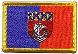 Aufnäher Patch Flagge Frankreich Paris - 8 x 6 cm