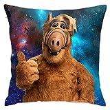 KJSKH ALF - Funda de almohada para decoración del hogar, suave,...