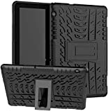 KATUMO Silikon Hülle für Huawei mediapad T5 10.1 Zoll Hard PC Hülle mit Standfunktion Schutzhülle für Huawei Tablet T5 Hülle Protective