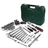 Auto Repair Tools Mechanical Tools Socket Wrench Tool Set for Automatic Ratchet Screwdriver Socket Set Hex...