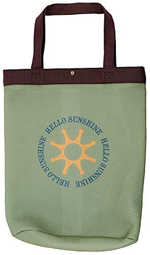 【Hello Sunshine/ハローサンシャイン】 ランドリーバッグ (洗濯・乾燥機OK) カーキ LAU-01-1