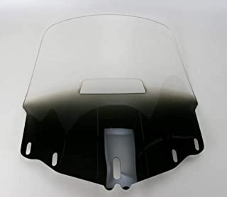 Memphis Shades MEP4881 Gradient Black Windshield (GL1800 Tall Gold Wing With Vent Hole)