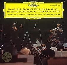 Dvorak: Cello Concerto in B Minor, Op. 104 / Tchaikovsky: Variations on a Rococo Theme