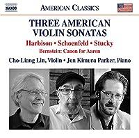 Three American Violin Son