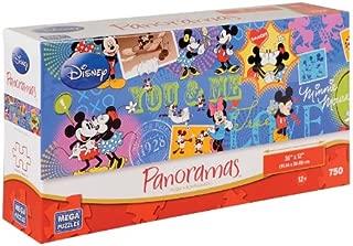 Disney Panoramas: Mickey and Minnie 750 Piece Puzzle