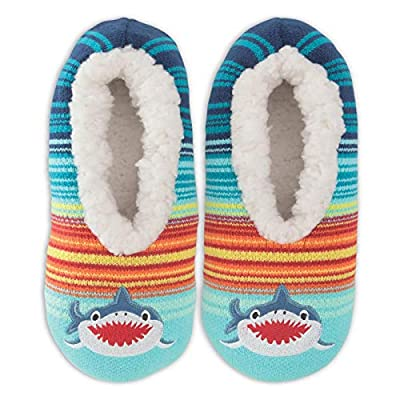 K. Bell Womens Shark Slippers