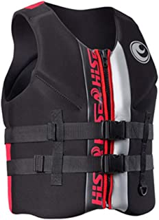 Oeyal Life Jacket Vest Neoprene Universal Boating Ski Life Saving Vest for Drifting Swimming Surfing Snorkeling Fishing