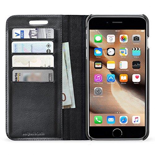 Artwizz 5255-1286 Funda para teléfono móvil 14 cm (5.5') Funda Cartera Negro - Fundas para teléfonos móviles (Funda Cartera, Apple, iPhone 6 Plus, 14 cm (5.5'), Negro)