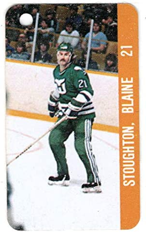 Blaine Stoughton Doug Outstanding Animer and price revision Sulliman - Hockey Hartford Card Whalers