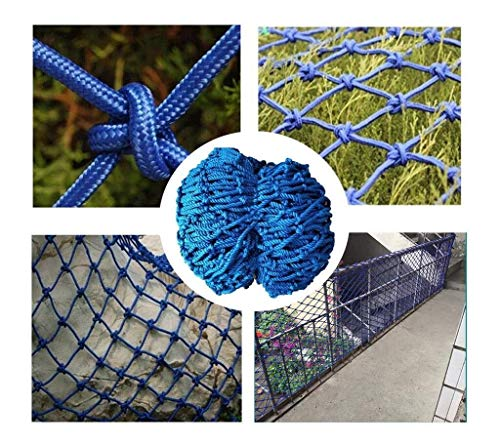 NiufHW ladder tegen vallen, veiligheidsnet voor kinderkamer, decoratief net van veiligheidskoord, balkon, bescherming voor hek, klimnet wand, kattennet, 1 x 3 m