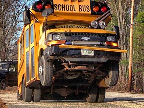 A Twin Turbo School Bus that Does Wheelies