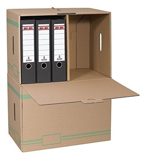 10 Ordner - Archivcontainer / 50,2 x 35,6 x 31,0 cm / 49,0 l